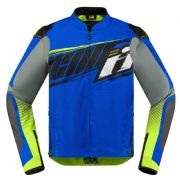 Icon Overlord SB2 Prime Textile Jacket Blue